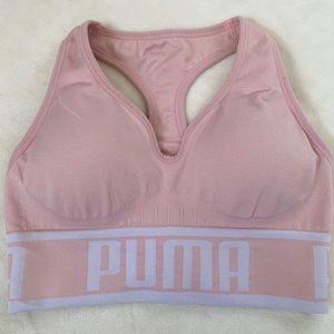 Pink Puma Sports Bra NWOT